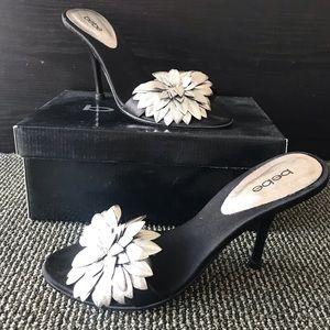 """Bebe """"floret"""" heels"""